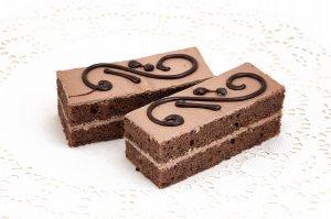 Пирожное «Бисквитное с шоколадным кремом»