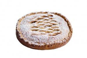 Пироги с персиком